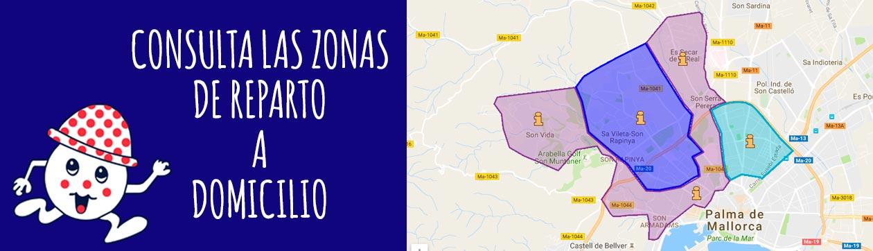 Pizzerias con reparto a domicilio en Palma de Mallorca