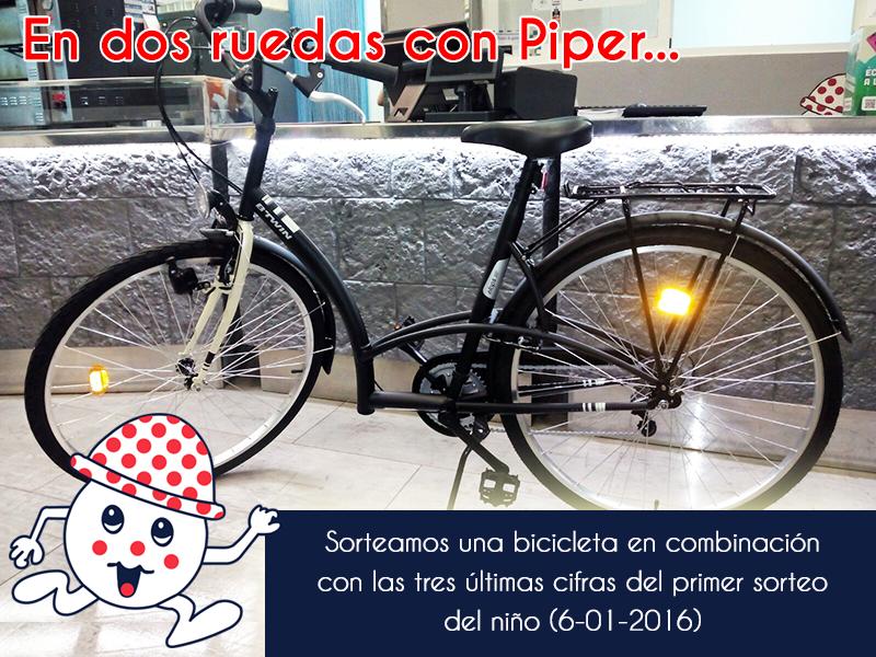 Sorteamos una bici !!