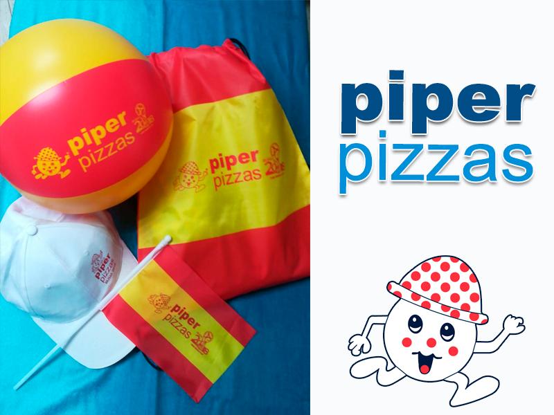 Ven a Buscar tu regalito Piper para el Mundial !!